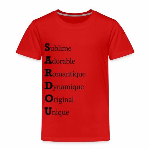 Sardou hommage - T-shirt Premium Enfant