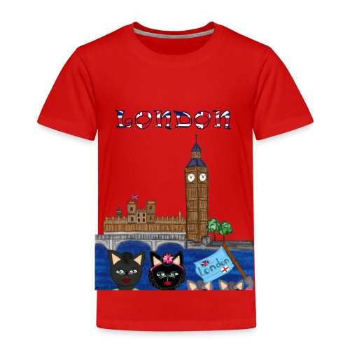 London - Kinder Premium T-Shirt