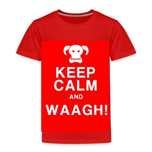 Keep Calm and Waagh! - Børne premium T-shirt