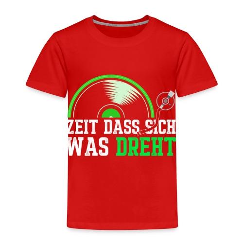 Zeit das sich was dreht - Retro Design - Kinder Premium T-Shirt