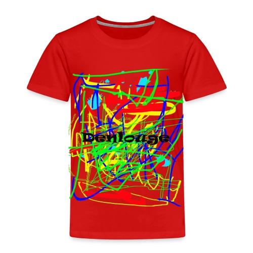 Denlouge Abstract - Kinder Premium T-Shirt