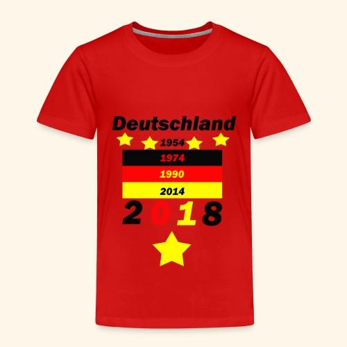 Deutschland 5 Sterne - Kinder Premium T-Shirt