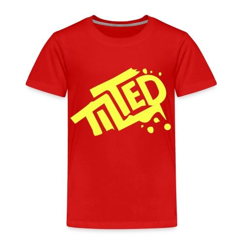 Fortnite Tilted (Yellow Logo) - Kids' Premium T-Shirt