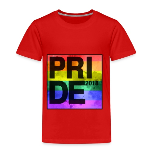 Pride 2018 Rainbow Block - Kids' Premium T-Shirt