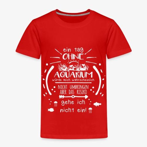 Lustiges Spruch-Motiv für Aquarien-Fans Geschenk - Kinder Premium T-Shirt