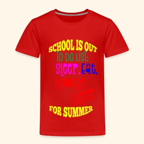 Last day of school - Kids' Premium T-Shirt