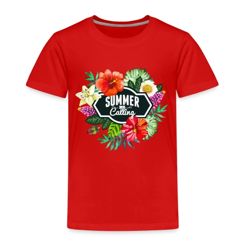 The summer is calling - Kinder Premium T-Shirt