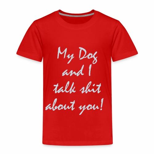 Hundebeseitzer / Hundeliebhaber T-Shirt - Kinder Premium T-Shirt