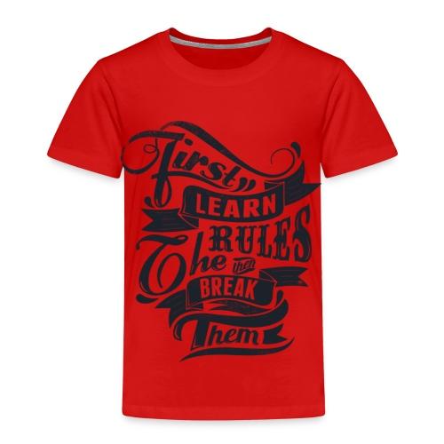 first lirn tchirt - T-shirt Premium Enfant