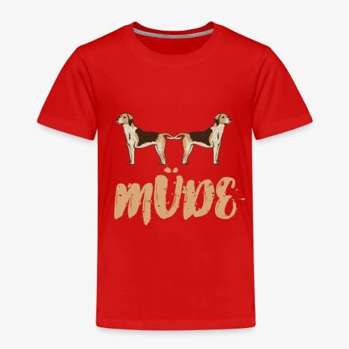 Hundemüde - Kinder Premium T-Shirt
