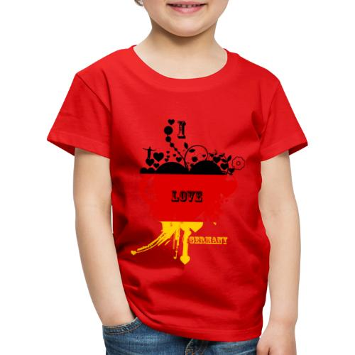 I LOVE Germany - T-shirt Premium Enfant