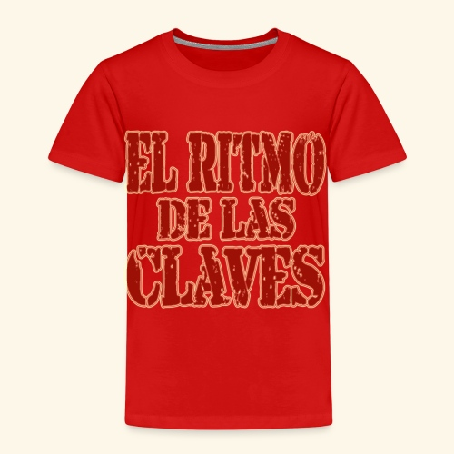 Clave rhythm salsa music dance gift - Kids' Premium T-Shirt