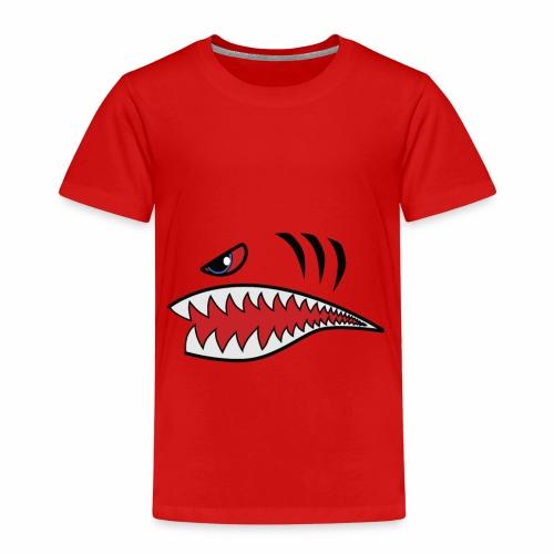 Tigerhai Maul - Kinder Premium T-Shirt