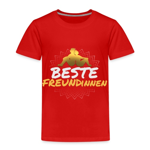 BESTE Freundinnen Partnerlook Freunde Freund - Kinder Premium T-Shirt