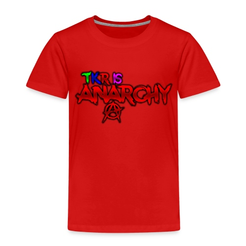 TKR IS ANARCHY! - Premium-T-shirt barn