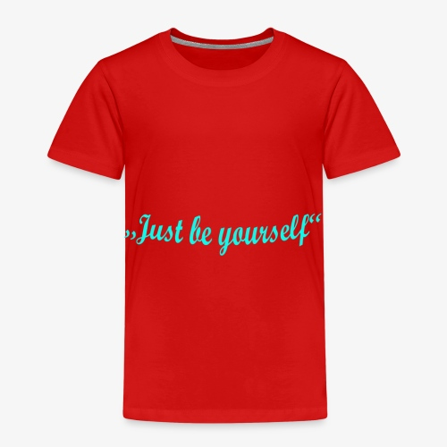 be yourself bogen - Kinder Premium T-Shirt