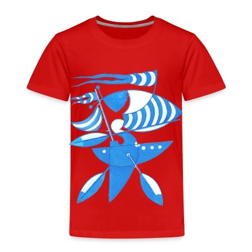 Grafik Seezeichen - Kinder Premium T-Shirt
