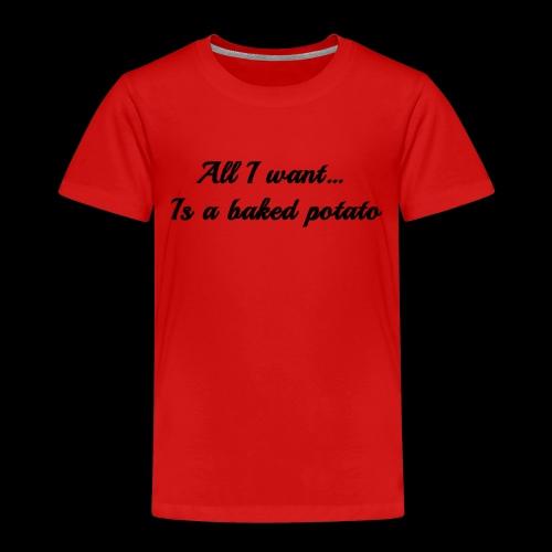 Baked potato - Kids' Premium T-Shirt