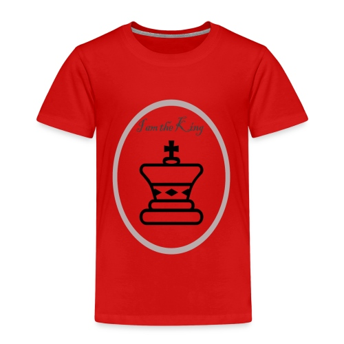 I am the King - Camiseta premium niño