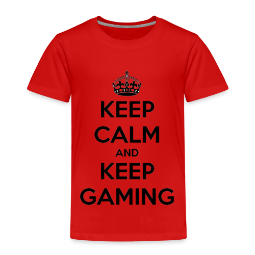 Keep Calm And Keep Gaming - Kids' Premium T-Shirt