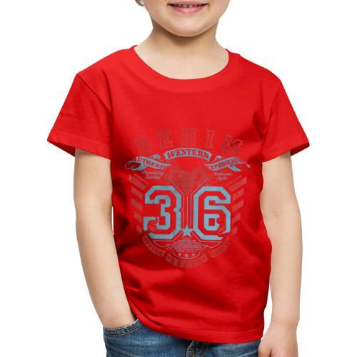 denim 36 écusson style western - T-shirt Premium Enfant