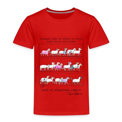 Bukowski's sheep - Maglietta Premium per bambini