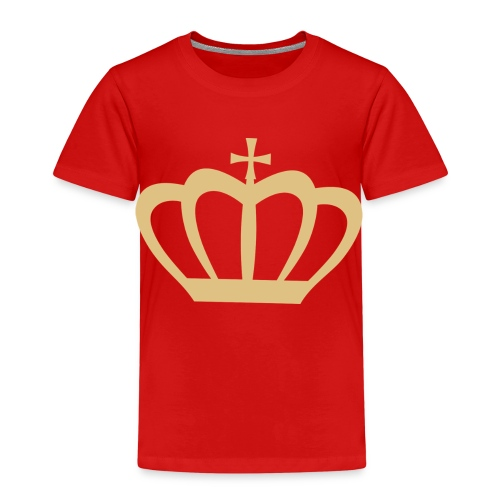 Krone gold - Kinder Premium T-Shirt