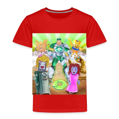 Captain Reece Icle - Kids' Premium T-Shirt