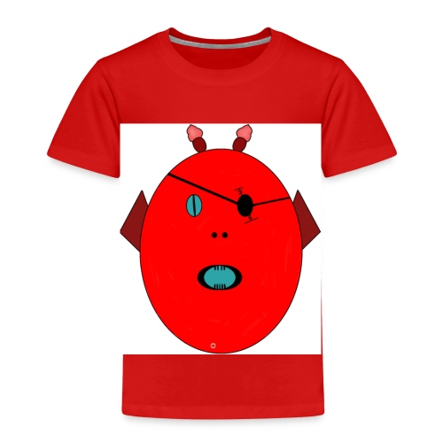 The red monster - Premium-T-shirt barn