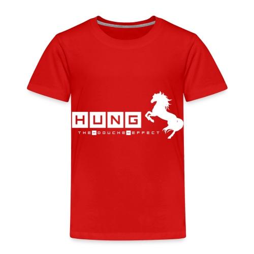 Hung Stallion WHT - Kids' Premium T-Shirt