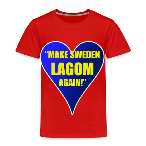 Make Sweden Lagom Again - Premium-T-shirt barn