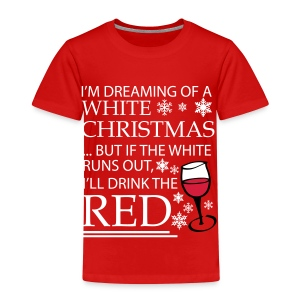 White Christmas - Kids' Premium T-Shirt