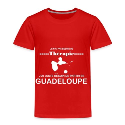 NUL BESOIN DE THERAPIE JUSTE DE LA GUADELOUPE - T-shirt Premium Enfant