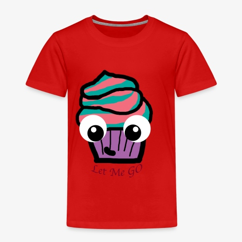 LetMeGO Cupcake - Kinderen Premium T-shirt