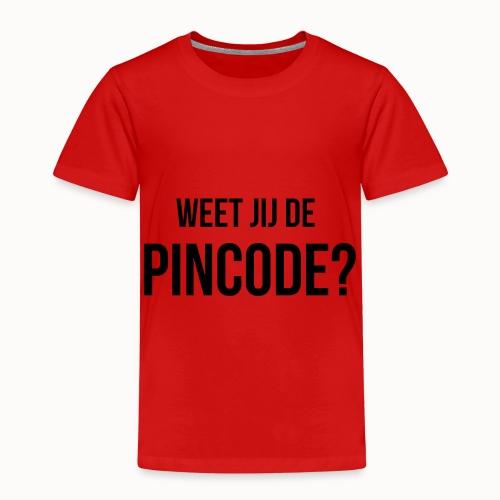 Weet jij de Pincode? - Kinderen Premium T-shirt