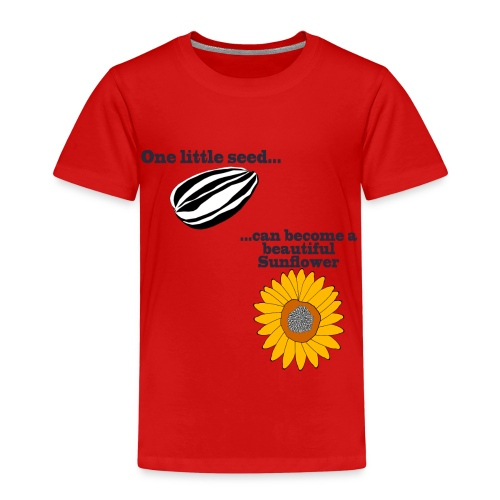One little seed - Kids' Premium T-Shirt