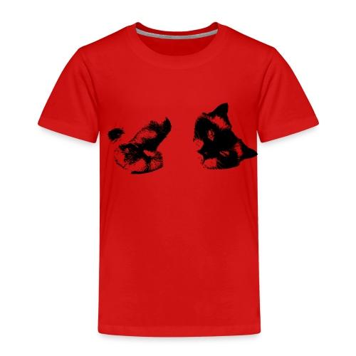 Schmuse Katze - Kinder Premium T-Shirt