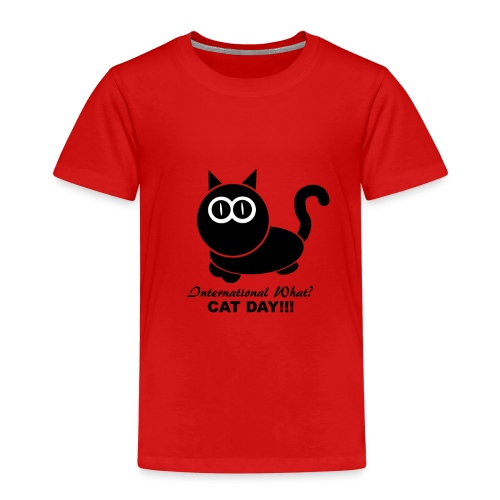 International Cat Day - Kinder Premium T-Shirt