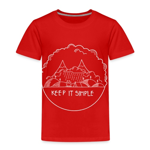 Keep it Simple Cloudy - Kinder Premium T-Shirt