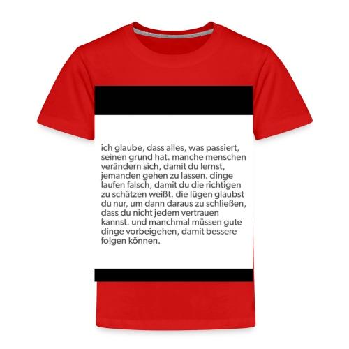 Handyhülle mit Spruch - Kinder Premium T-Shirt