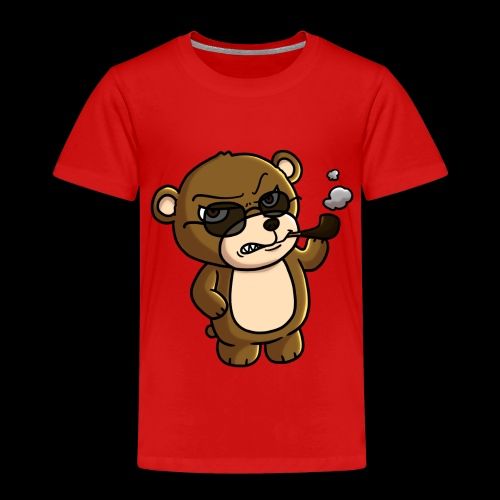 AngryTeddy - Kids' Premium T-Shirt