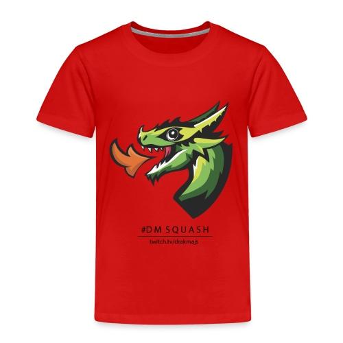 Draken med svart text - Premium-T-shirt barn