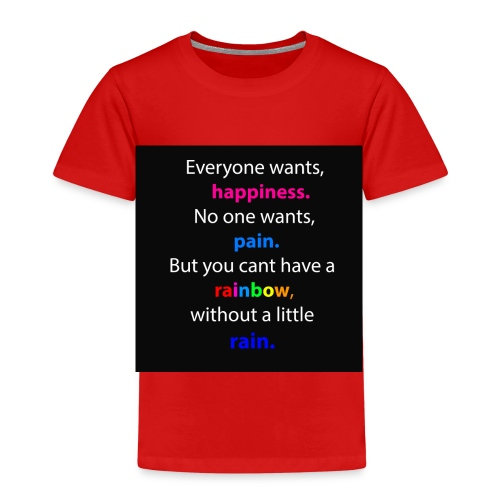 Everyone wants, happiness - Kinder Premium T-Shirt