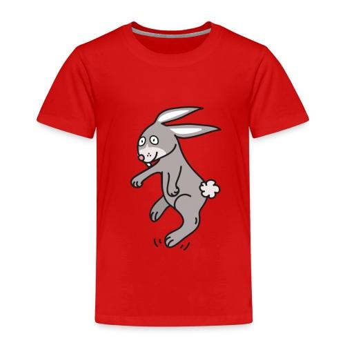 Funny Bunny Lustiges Häschen Comic Style - Kinder Premium T-Shirt