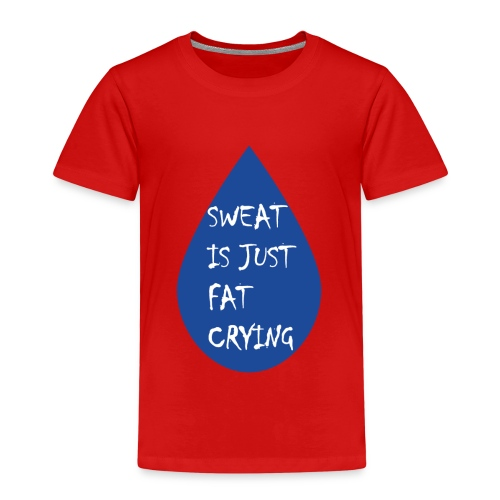 Funny fitness quote - Kids' Premium T-Shirt