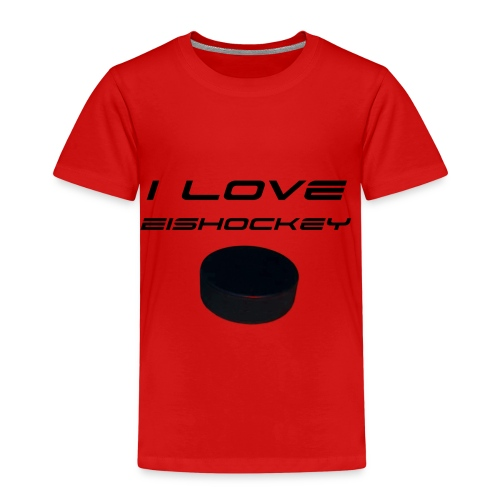 I love Eishockey - Kinder Premium T-Shirt