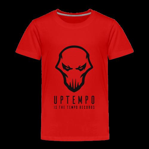 Uptempo Records Black - Kinderen Premium T-shirt