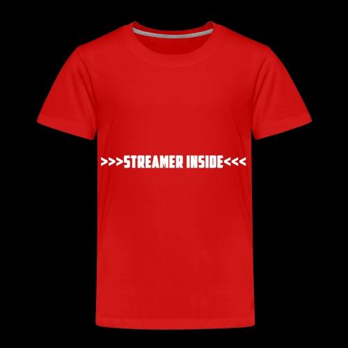 Streamer Inside - Zeig was du machst - Kinder Premium T-Shirt