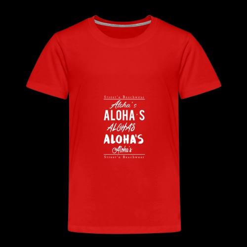 Aloha's Aloha - Kinder Premium T-Shirt