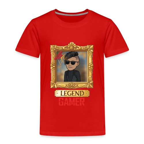 LEGEND GAMER - Børne premium T-shirt